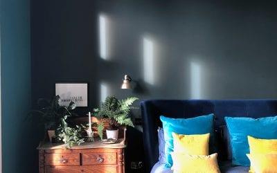 Bold bedroom with en-suite
